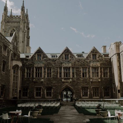 Hart House featured in Alex and Dylan's Wildly Romantic Toronto Wedding