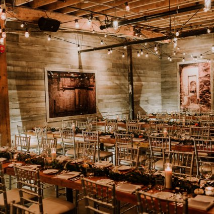The Distillery District - Loft featured in Alex and Dylan's Wildly Romantic Toronto Wedding