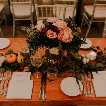 Rikki Marcone Floral & Event Design featured in Alex and Dylan's Wildly Romantic Toronto Wedding