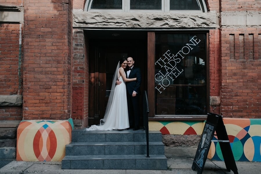 Genevieve and Derya's Intimate Wedding at The Gladstone 27