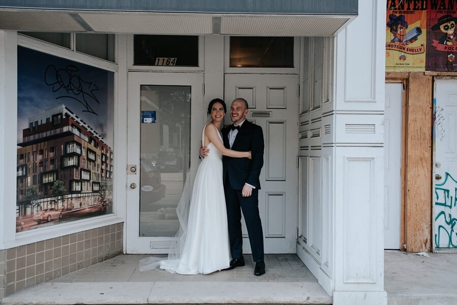 Genevieve and Derya's Intimate Wedding at The Gladstone 29