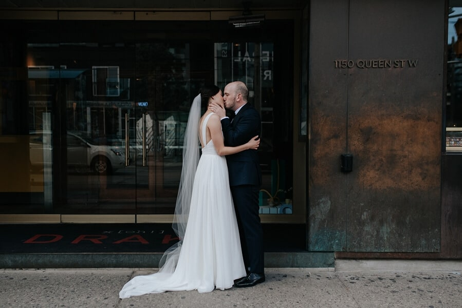 Genevieve and Derya's Intimate Wedding at The Gladstone 30
