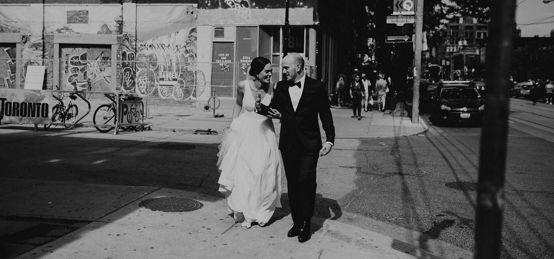 Hero image for Genevieve and Derya's Intimate Wedding at The Gladstone