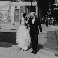 Genevieve and Derya's Intimate Wedding at The Gladstone