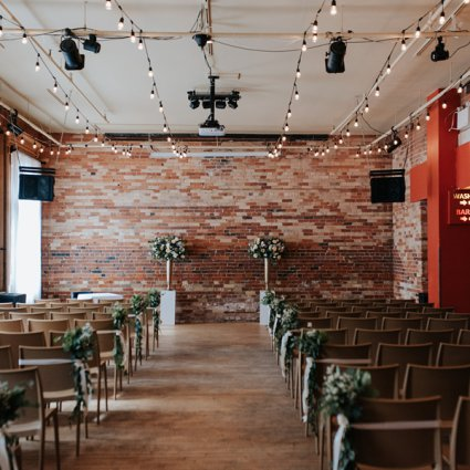 Gladstone Hotel featured in Genevieve and Derya's Intimate Wedding at The Gladstone