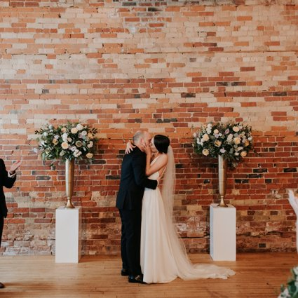 Ceremonies With Choice featured in Genevieve and Derya's Intimate Wedding at The Gladstone