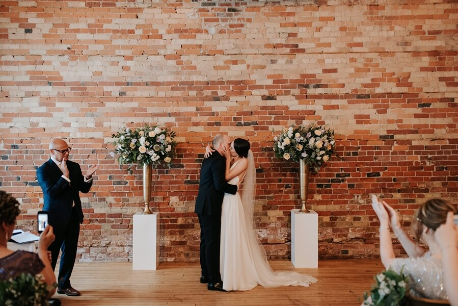 Genevieve and Derya's Intimate Wedding at The Gladstone 37