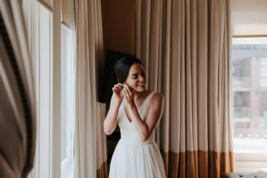 Genevieve and Derya's Intimate Wedding at The Gladstone 3