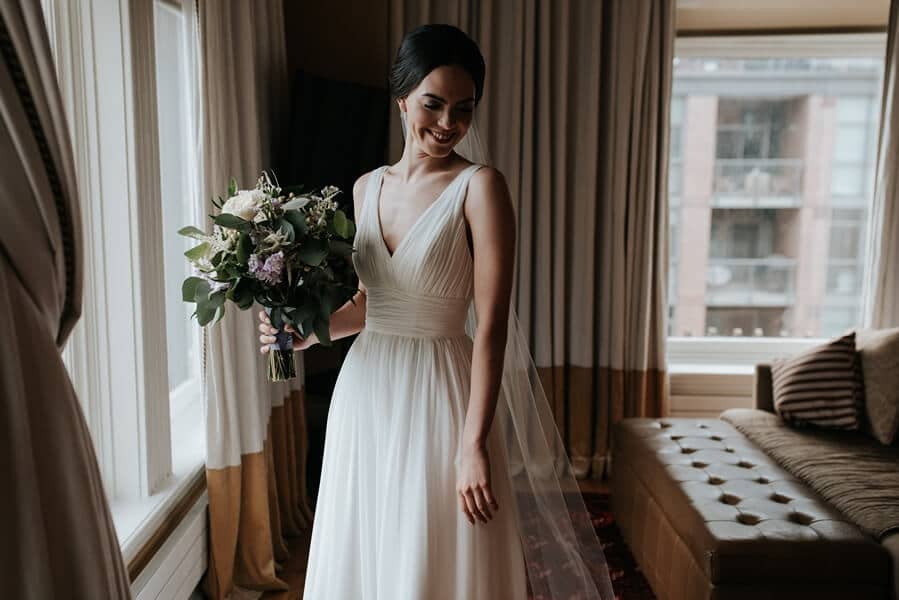 Genevieve and Derya's Intimate Wedding at The Gladstone 4