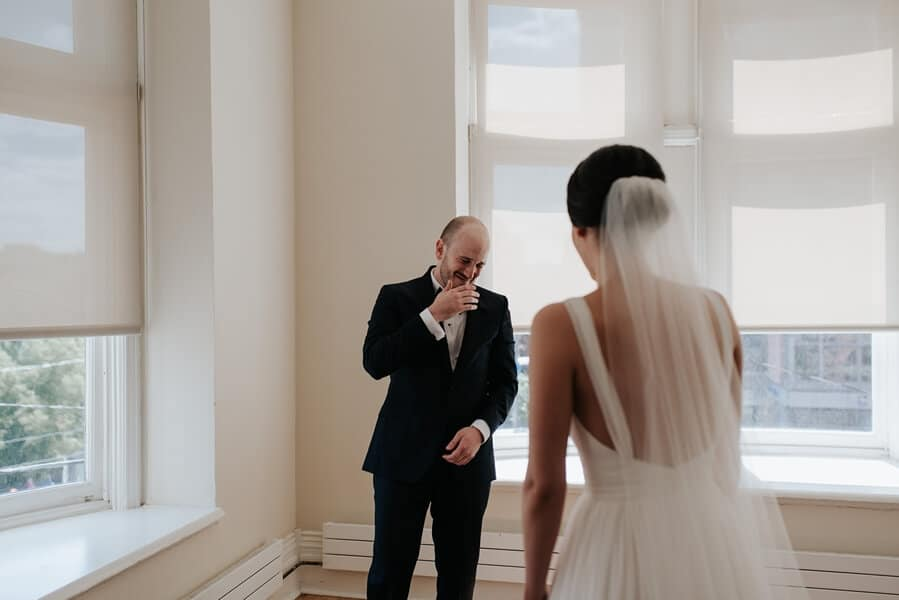 Genevieve and Derya's Intimate Wedding at The Gladstone 24
