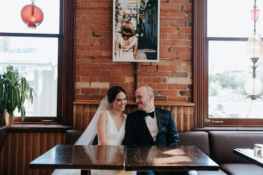 Genevieve and Derya's Intimate Wedding at The Gladstone 26