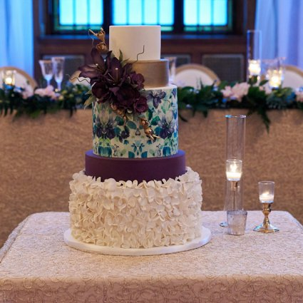 For The Love of Cake featured in The 2018 Annual Wedding Open House at the Albany Club
