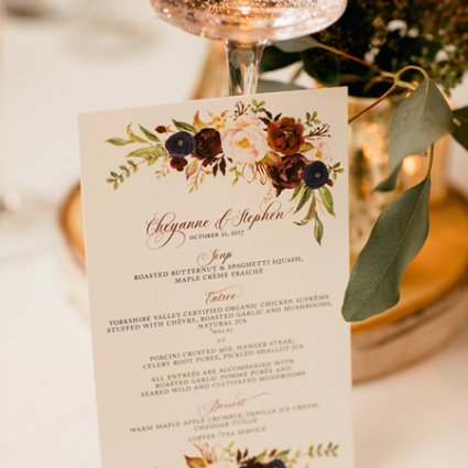 Paper Damsels featured in Cheyanne and Stephen's Rustically Warm Wedding at the Ferment…