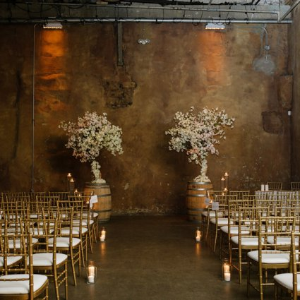 Fermenting Cellar featured in Cheyanne and Stephen's Rustically Warm Wedding at the Ferment…