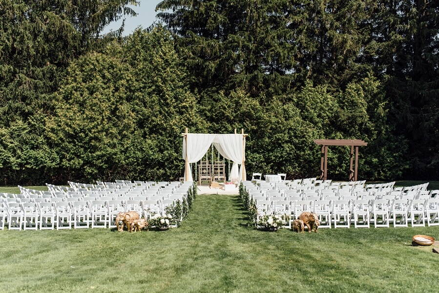 Miller Lash House Outdoor Wedding Venue