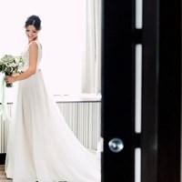 Shannon and Matthew's Organic and Romantic Malaparte Wedding