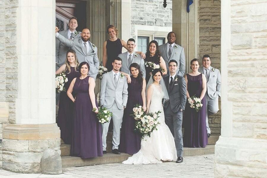 Wedding at Liberty Grand Entertainment Complex, Toronto, Ontario, George Matthew Photography, 26