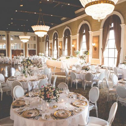 Liberty Grand Entertainment Complex featured in Diane and Uros' Romantically Luxurious Wedding at Casa Loma a…