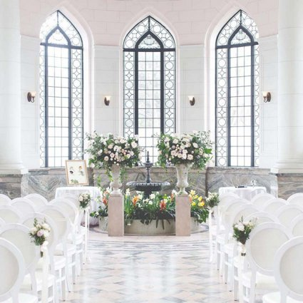 Flower 597 featured in Diane and Uros' Romantically Luxurious Wedding at Casa Loma a…