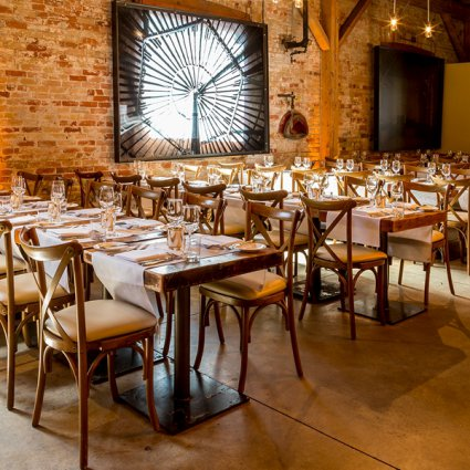 Jackie O Florists featured in The 2018 Annual Wedding Open House in Toronto's Distillery Di…