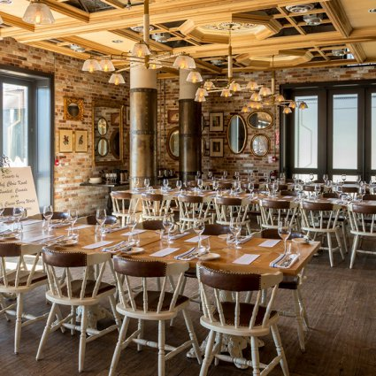 Cluny Bistro featured in 15 Intimate Wedding Venues in Toronto Perfect for 100 Guests …