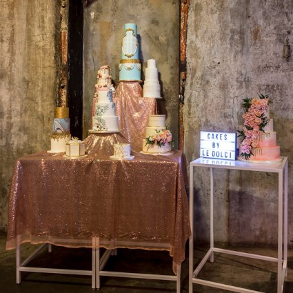 Le Dolci featured in The 2018 Annual Wedding Open House in Toronto's Distillery Di…