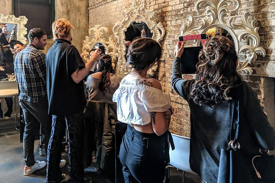 2018 annual wedding open house torontos distillery district, 56