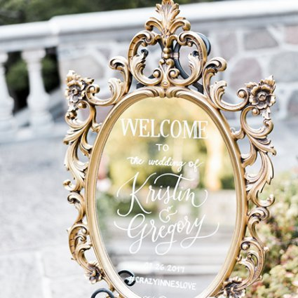 Southern Charm Vintage Rentals featured in Kristin and Greg's Classic Summer Wedding at Graydon Hall