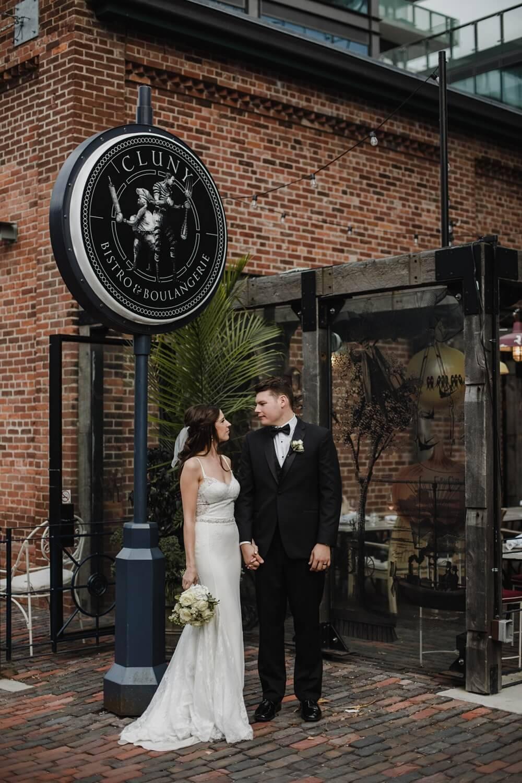 Wedding at Cluny Bistro, Toronto, Ontario, Jennifer See Studios, 16
