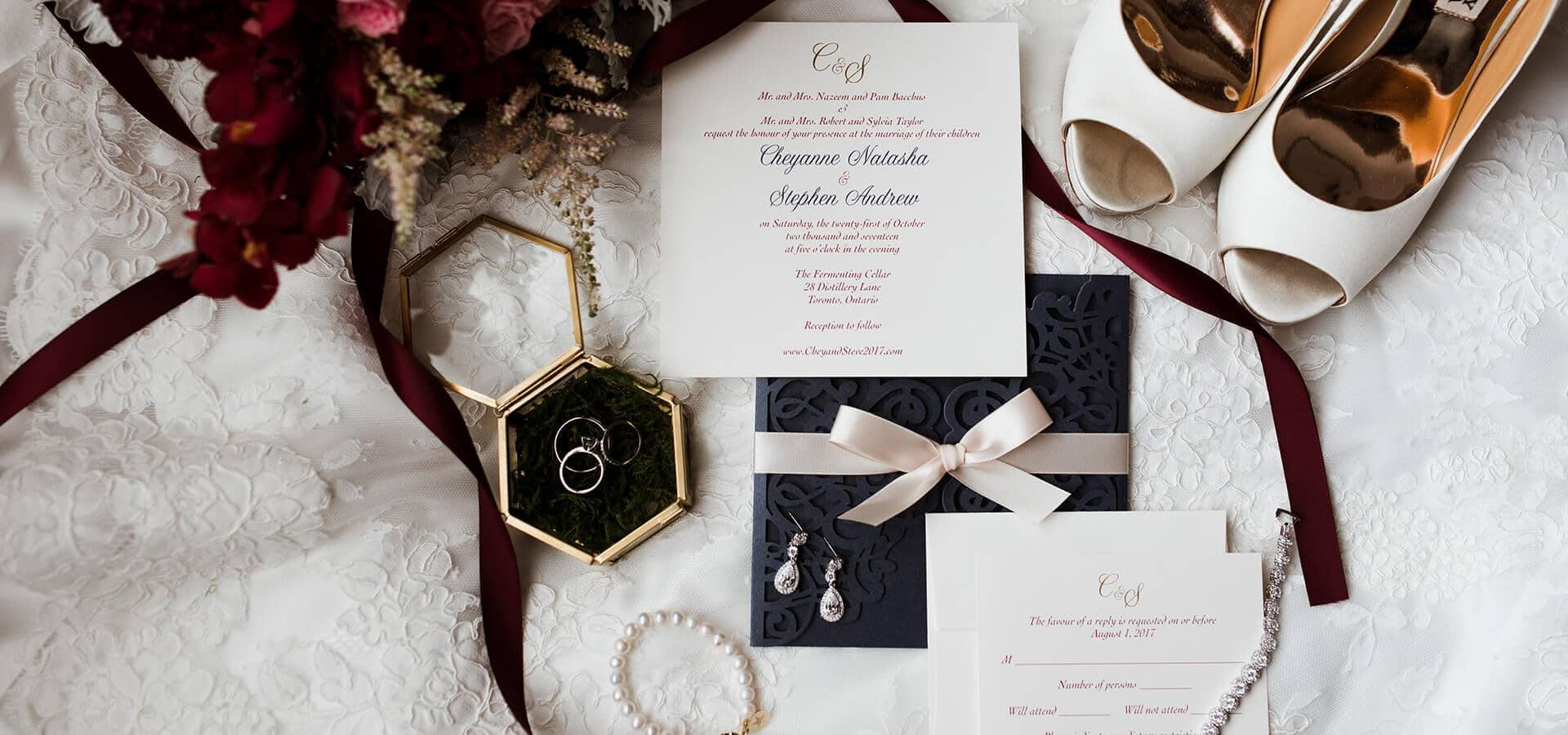 Hero image for Tips for Newly Engaged Couples on Creating the Perfect Wedding Invites