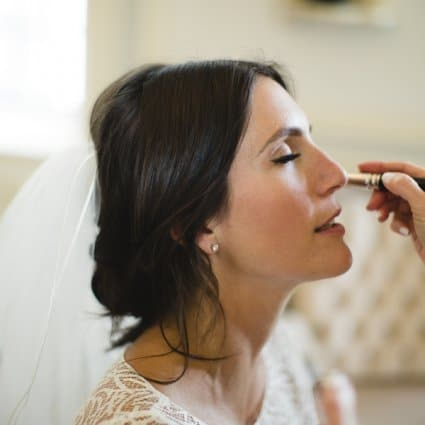 Kirsch Cosmetic Studio featured in Marissa and Will's Fairy-Tale Wedding at the Always Enchantin…