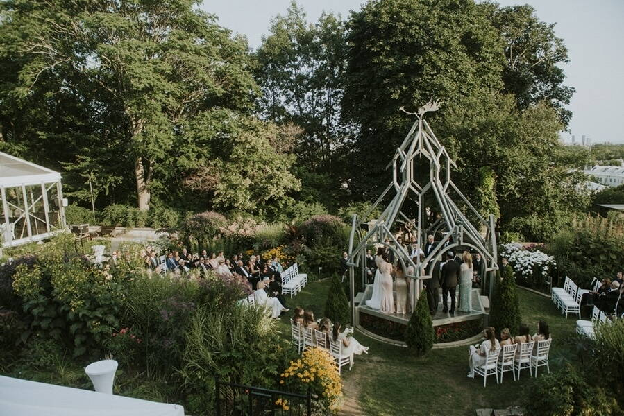 Casa Loma Outdoor Wedding Venue