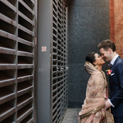 Thumbnail for Kamini and Glen's Stunning Multicultural Wedding at The Ferme…