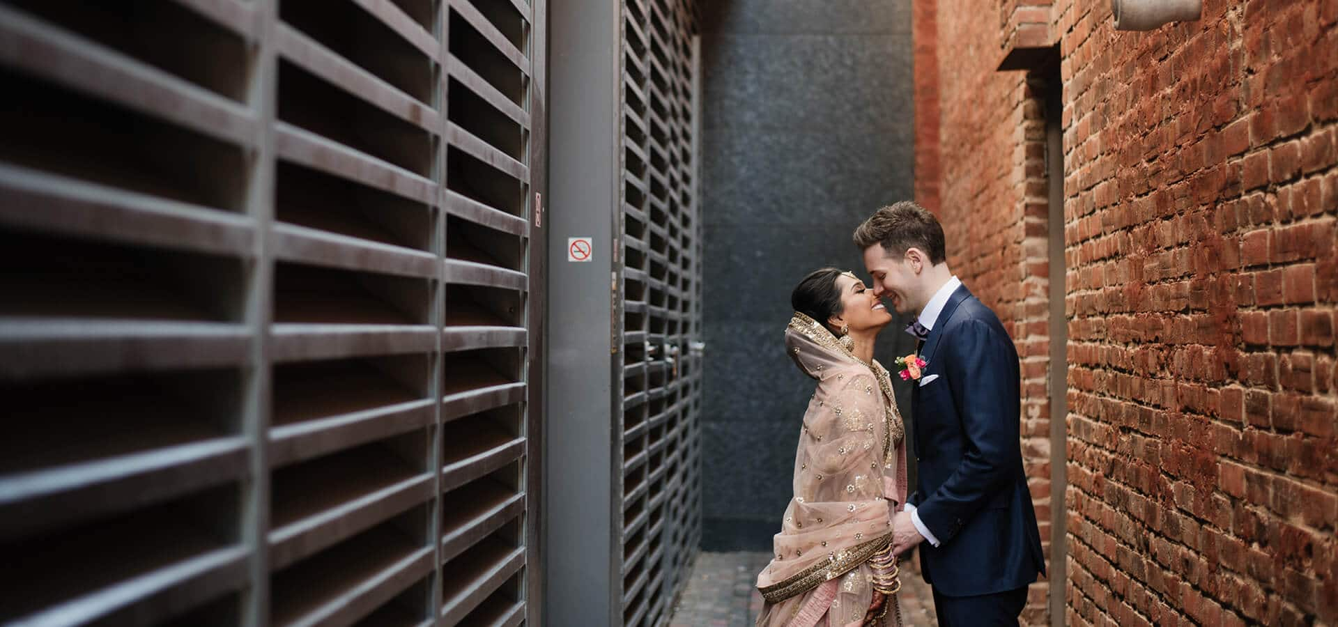Hero image for Kamini and Glen's Stunning Multicultural Wedding at The Fermenting Cellar
