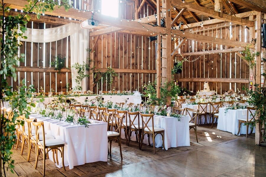 top venues for a toronto barn wedding, 1