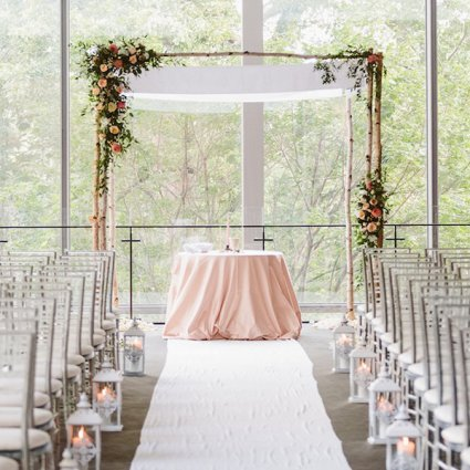The Royal Conservatory featured in Ally and Zach's Lounge-Style Wedding at The Royal Conservator…