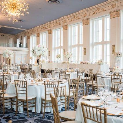 The King Edward Hotel featured in Jackie and Keegan's Elegant King Edward Hotel Wedding