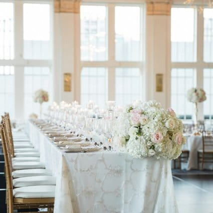 Have a Seat featured in Jackie and Keegan's Elegant King Edward Hotel Wedding