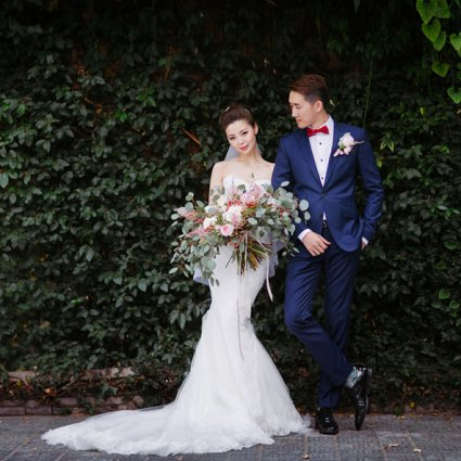 Surmesur featured in Candy and Tony's Magical Wedding at The Madison Greenhouse