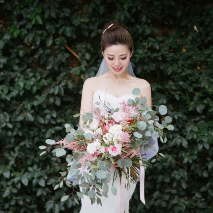 MYU Makeup - Michelle Yu featured in Candy and Tony's Magical Wedding at The Madison Greenhouse