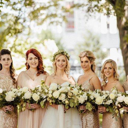 "Thumbnail for Daniella and Joe's ""Rustic Glam"" Wedding At The Berkeley Fiel…"