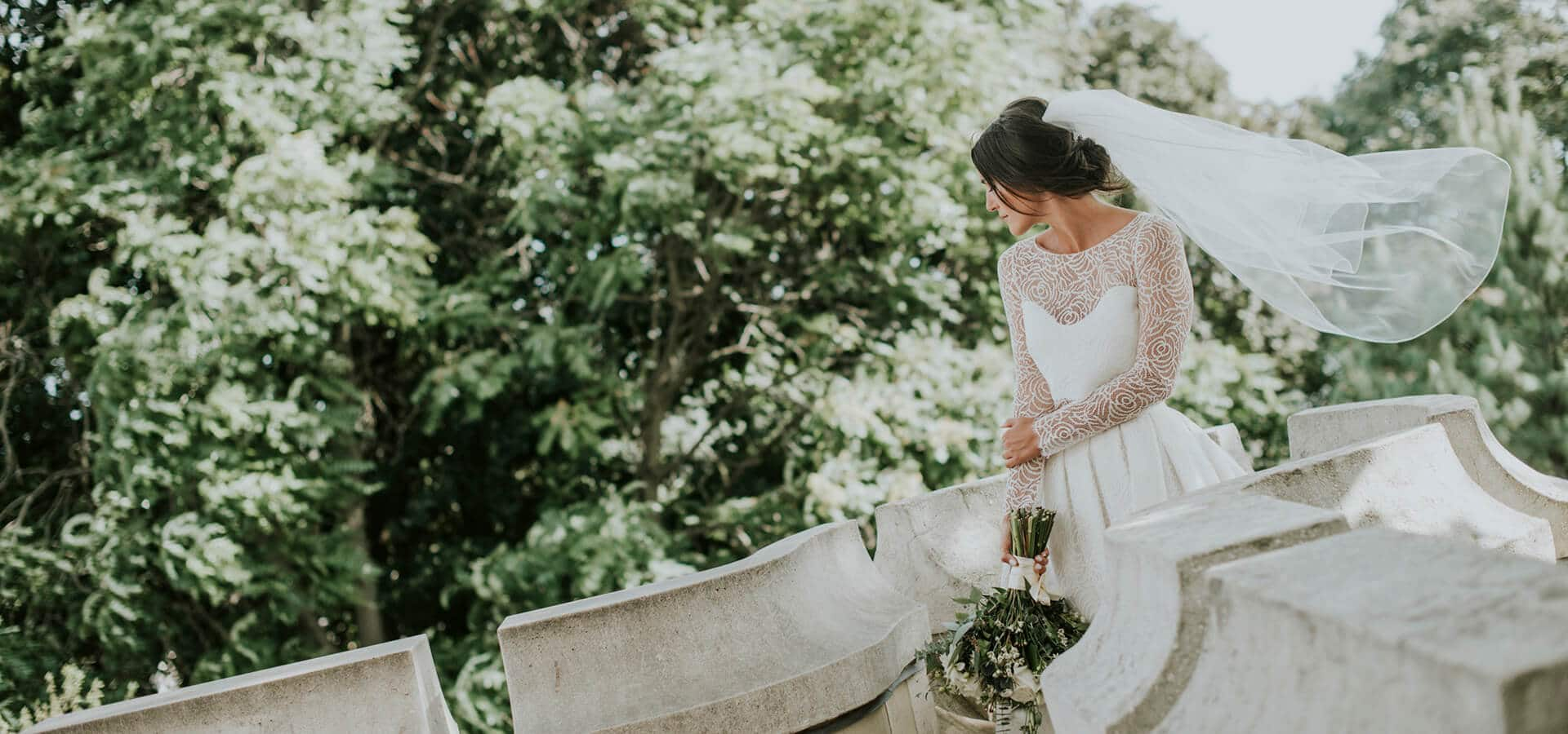 Hero image for Marissa and Will's Fairy-Tale Wedding at the Always Enchanting Casa Loma