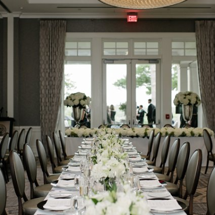 Bliss Toronto featured in Sarah and Chris' Cosmopolitan Wedding at Rosedale Golf Club