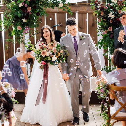 Thumbnail for Brittany and Mitch's Enchanting Wedding at Cambium Farms