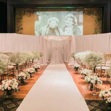 The Eglinton Grand featured in Alice and Jeffrey's Magical Eglinton Grand Wedding
