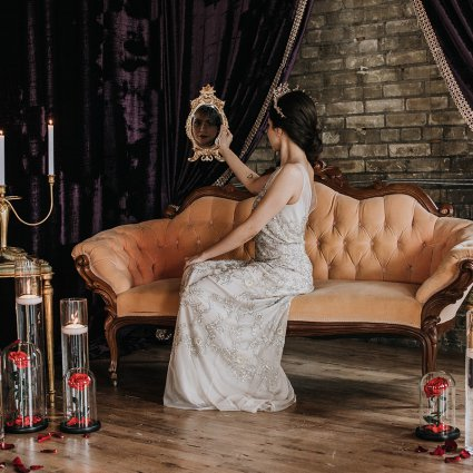 Amy Taylor Photography featured in A Moody Gothic-Glam Inspired Style Shoot
