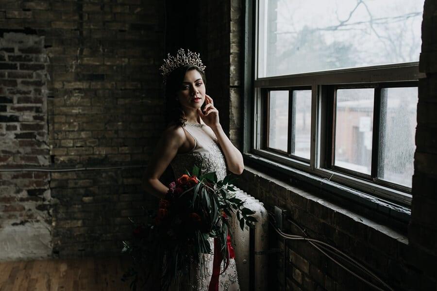 gothic glam inspired shoot, 23