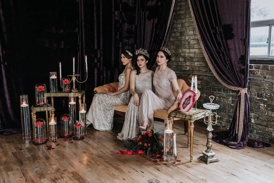 gothic glam inspired shoot, 30