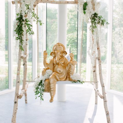 Xclusive Designs featured in Rima and Tushar's Stunning 2-Day Toronto Wedding Celebration