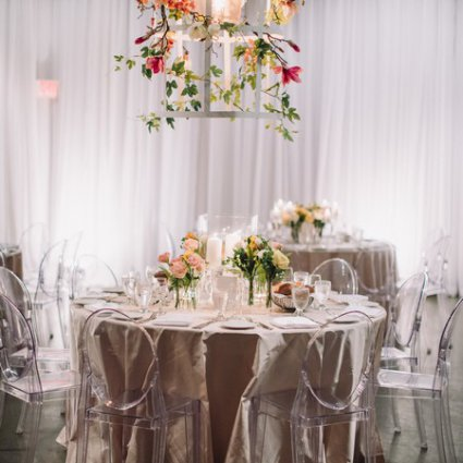 Around the Table featured in Tali and Barry's Romantic Fall Wedding at York Mills Gallery